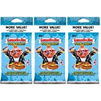 "$21 » 3 PACKS: 2021 Topps Garbage Pail Kids Series 1 'Food Fight!"" VALUE packs (24 stickers/pk)"