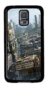 amazing Samsung S5 cases Future City Art PC Black Custom Samsung Galaxy S5 Case Cover