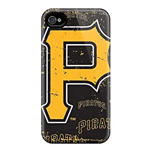 DaMMeke Case Cover Protector Specially Made For Iphone 4/4s Pittsburgh Pirates