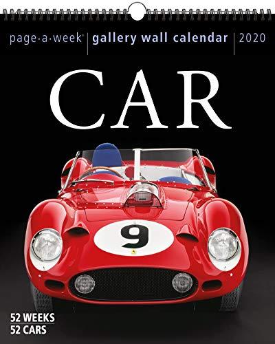 Car Page-A-Week Gallery Wall Calendar 2020