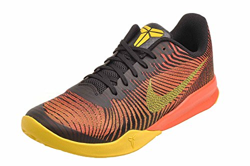 Nike Herren Kb Mentality II Basketballschuh Schwarz / Tour Gelb