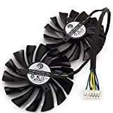 Replacement Video Card Cooling Fan For GTX980 GTX970 GTX960 Graphics Card Fan PLD10010S12HH 12V 0.4A 95mm 5 Wire 6 Pin