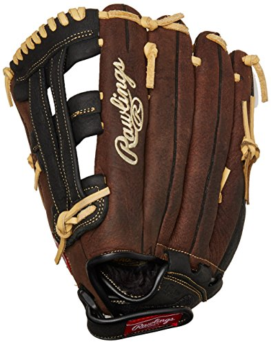 Rawlings Player Preferred Adult Glove, Left Hand Throw, (Warrior Youth Baseball Bat)