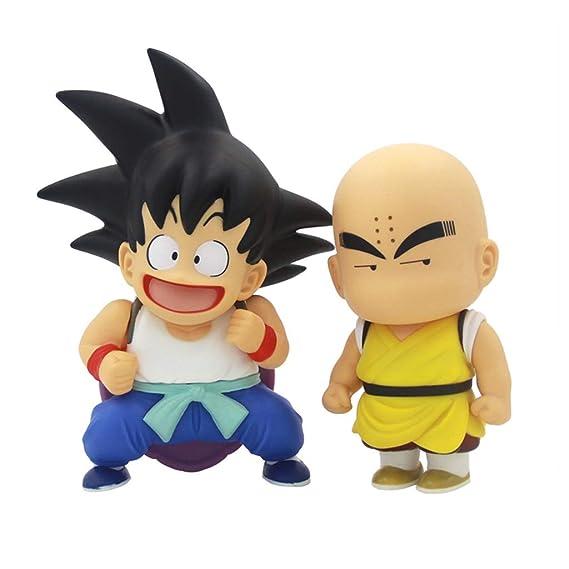 Dragon Ball Toy Statue Sun Wukong y Kobayashi modelo de ...