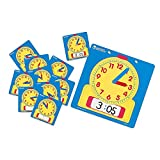 Learning Resources Write & Wipe Clocks Classroom Set