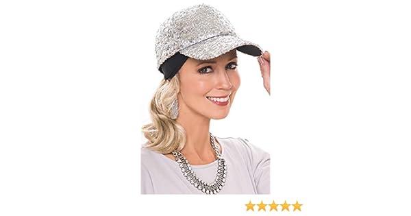 9d5d74937de86 Amazon.com  Ponytail Headband for Hats