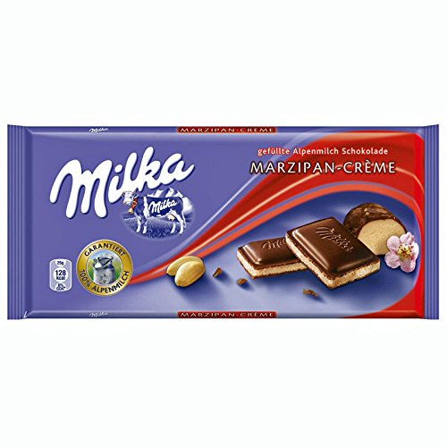 Milka (Germany) Marzipan-Crème (Smooth Marzipan) 3-Pack