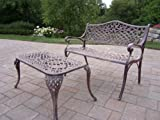 Best Oakland Living Ab Benches - Oakland Living Mississippi Cast Aluminum Settee Bench Review