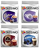 Tassimo Hot Chocolate Mega Pack - Cadbury, Oreo, Milka, Suchard Pods Discs - 40 Servings Total