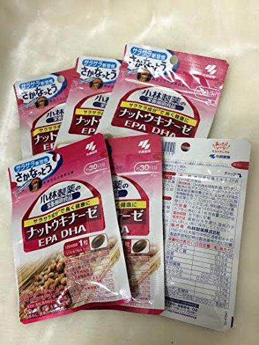 小林製薬の栄養補助食品 ナットウキナーゼDHAEPA 30粒(約30日分) 6セット B009WH7FZ0