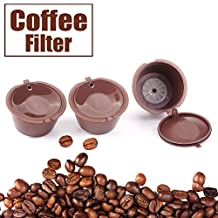 Raza 1pc Refillable Reusable Dolce Gusto coffee Capsule Refill Nescafe Capsules Reuse Dolce Gusto Pods Brewers Coffee Tea Cup