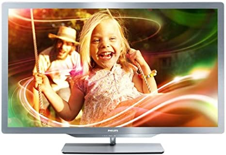 Philips 37PFL7606H/12 - Televisor LED Full HD de 37 pulgadas con 3D pasivo (Smart TV, 20W, USB grabador, 500.000:1): Amazon.es: Electrónica