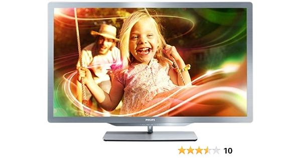 Philips 37PFL7606H/12 - Televisor LED Full HD de 37 pulgadas con 3D pasivo (Smart TV, 20W, USB grabador, 500.000:1): Amazon.es: Electrónica