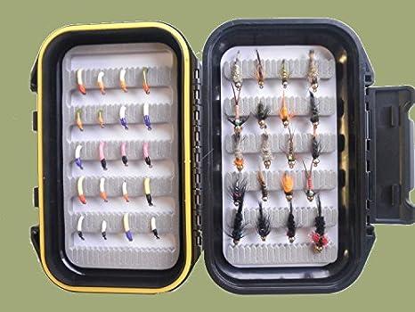 Goldkopfnymphen Fliegen Goldkopf Nymphen Fliegenfischen Sortiment 30 St Box