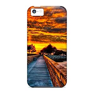 New Premium JosieGrilli Towards The Future Skin Cases Covers Excellent Fitted For Iphone 5c