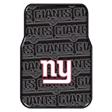 The Northwest Company Officially Licensed NFL New York Giants Two-Pack Front Car Floor Mat