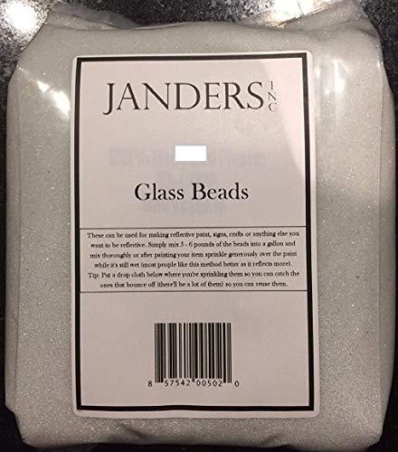 Reflective Glass Beads - 4 mil (sand like) (5 Pounds)