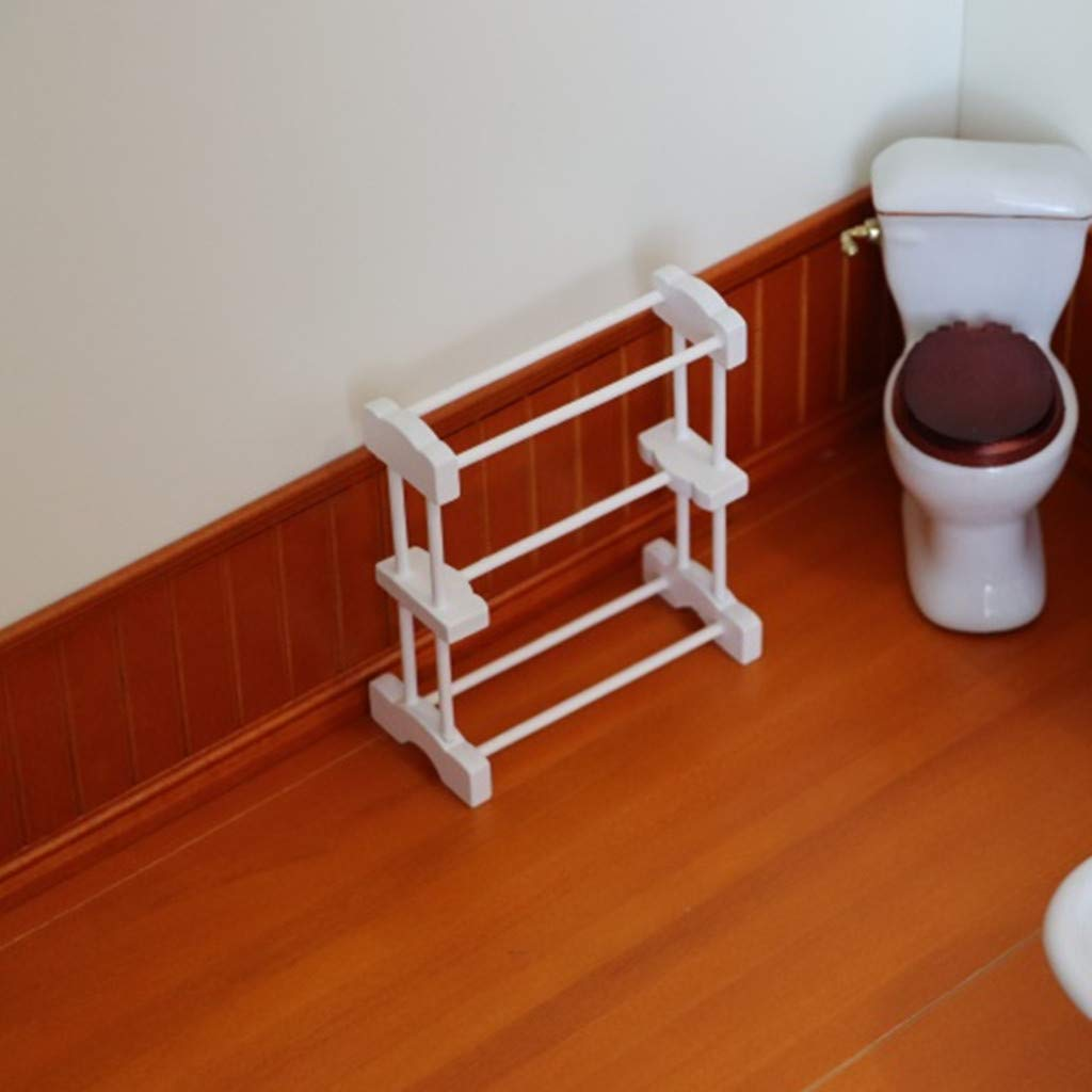 Amazon.com: Binory Mini Towel Rack Miniature Life Play Scene ...