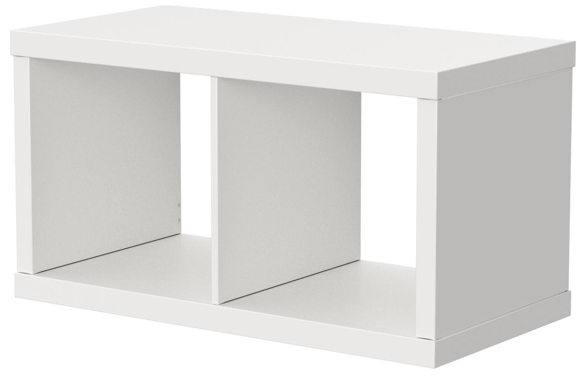 Ikea KALLAX estantería de Pared Blanco; (77 x 42 cm)