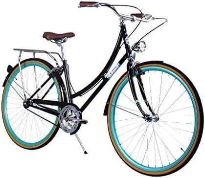 Zycle Fix Civic Women - Black Skies - Women City Series Single-Speed Urban Commuter Bike