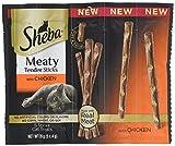 Sheba Meaty Tender Sticks with Chicken Cat Treats (5 Treats), 0.7 oz, Box of 10