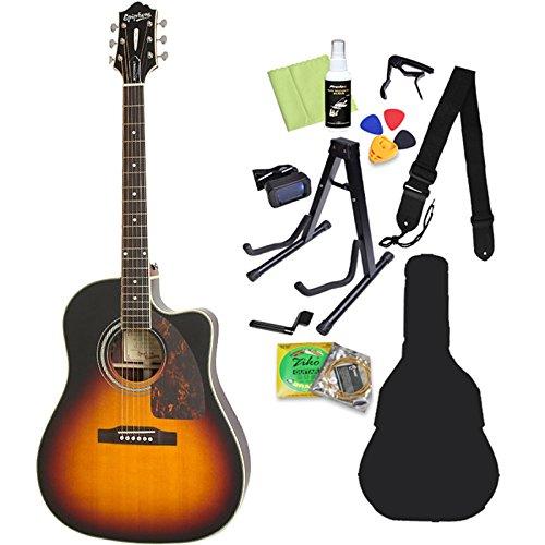 Epiphone Masterbilt AJ-500RCE VS アコースティックギター初心者12点セット エピフォン   B07CPWCZWZ