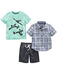 Boys' Toddler 3-Piece Playwear Set