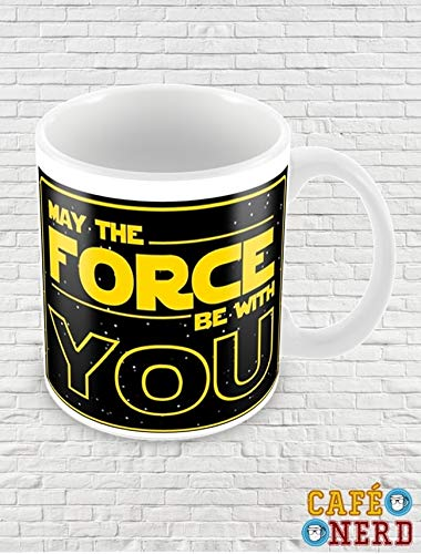 CANECA STAR WARS MAY THE FORCE BE WITH YOU