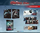 AVENGERS AGE OF ULTRON (3D/2D Blu-ray NOVA LENTI SLIP Steelbook; NovaMedia Exclusive LENTICULAR SLIP; Only 1000 Worldwide)