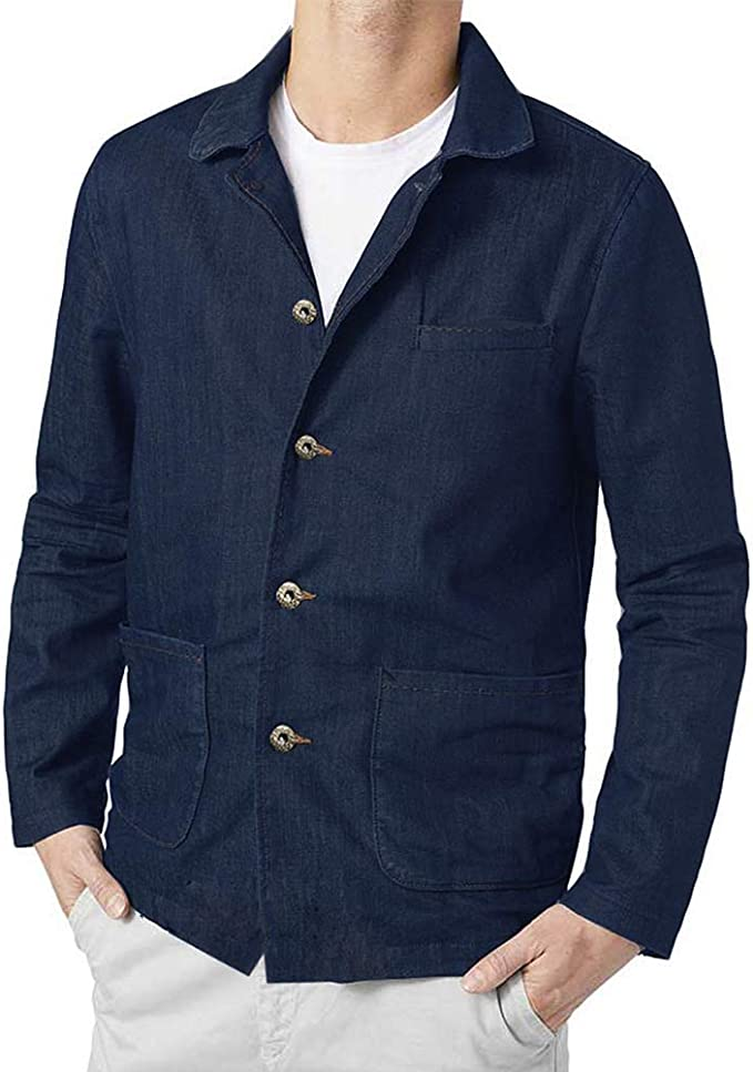 Mens Vintage Shirts – Casual, Dress, T-shirts, Polos COOFANDY Mens Casual Blazer Jacket Slim Fit Vintage Multi-Color Suit Sport Coat Lightweight Cotton Jackets $25.99 AT vintagedancer.com