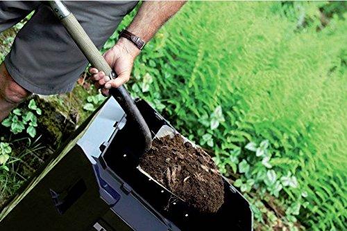 GARDEN papelera basurero módulo 800L residuos orgánicos unidad a ECO (iksm80z): Amazon.es: Jardín