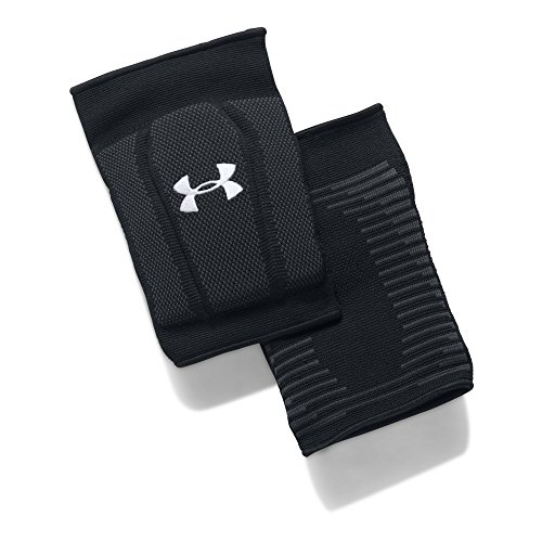 Under Armour Armour 2.0 Knee Pads, Black//White, Medium