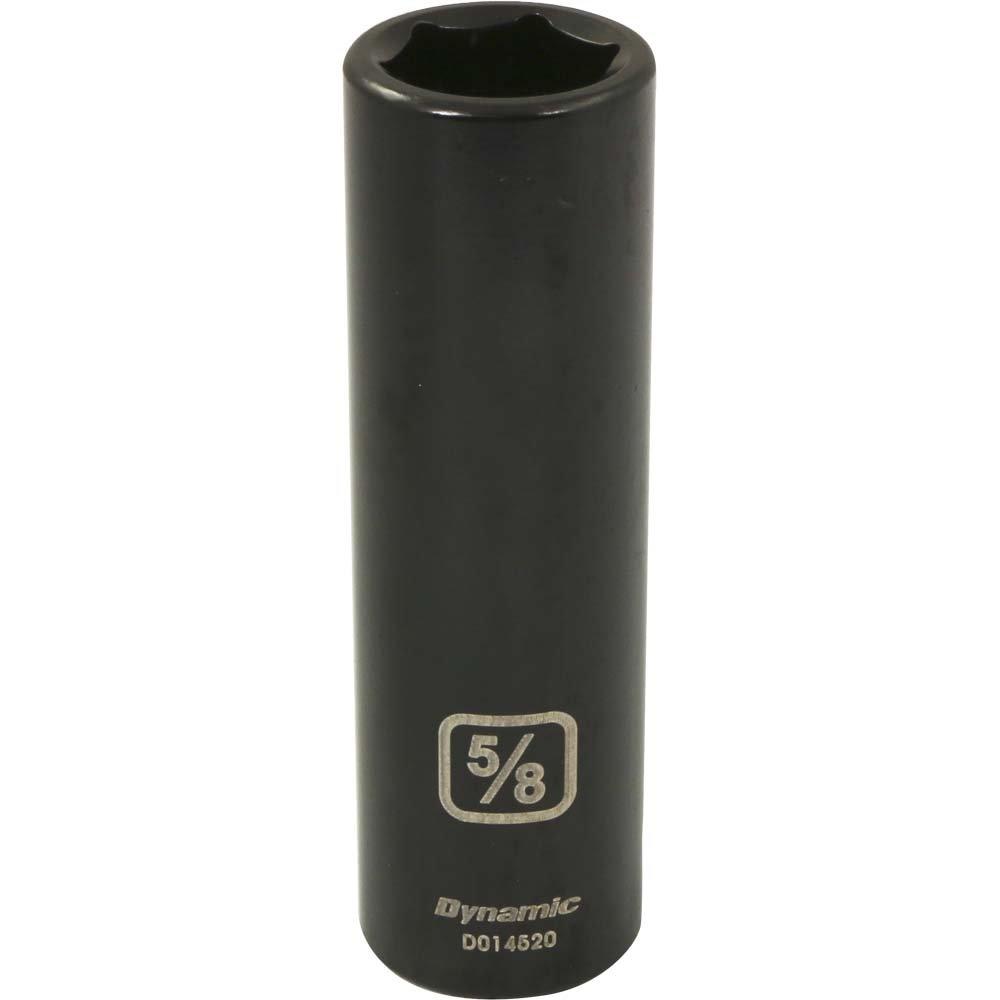 Impact Socket 13//16-Inch Deep Length Dynamic Tools 1//2-Inch Drive 6 Point SAE