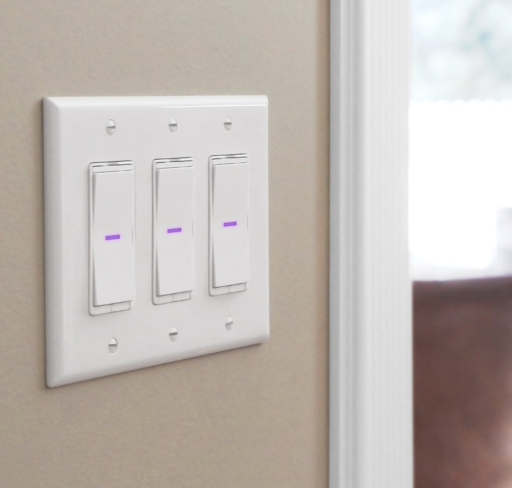 iDevices Wall Switch - Wifi Smart Light Switch, No Hub Required ...