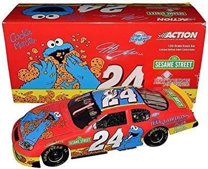 2003 Jeff Gordon Sesame Street Jeff Gordon Foundation 1:24 Action NASCAR Diecast