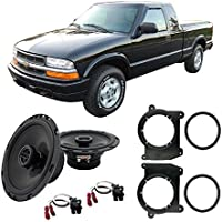 Fits Chevy S-10 Pickup 1994-2001 Front Door Factory Replacement Harmony HA-R65 Speakers