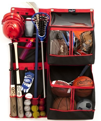 Rawlings Ultimate Sports Equipment Organizer FSSB36 Bats, Balls, - Sports Equipment & Outdoor Gear