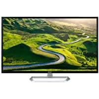 Acer EB Series EB321HQU Wide QHD Display Monitor 2560 x 1440 DVI HDMI DisplayPort,Black, 31.5 (16:9)