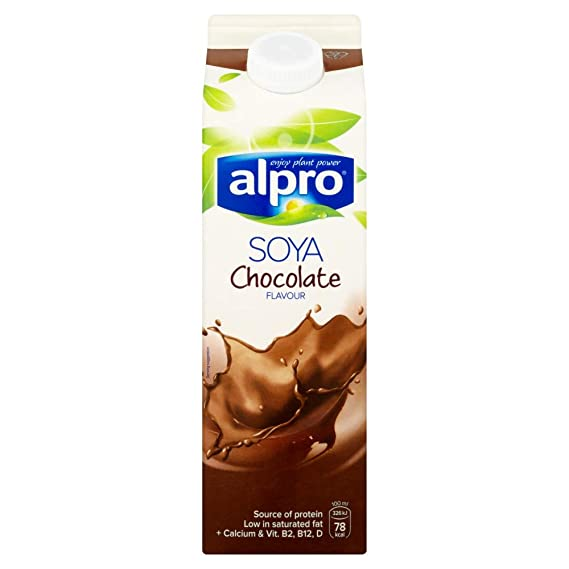 Alpro Soya Chocolate Milk 1l Chilled