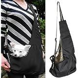 Oxford Cloth Sac de transport bandoulière pour chien de petite taille, chat, chiot Taille L