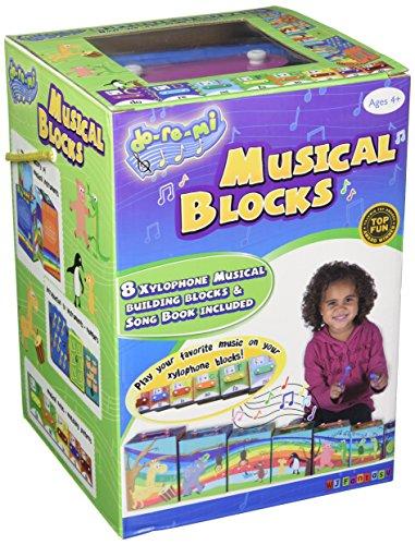 Babalu Do Re Mi Musical Stacking Blocks
