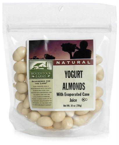 Woodstock Farms All Natural Yogurt Almonds -- 8.5 oz by Woodstock Farms