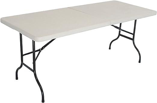 Inconnu Table Pliante Hauteur Env 75 Cm Longueur 184