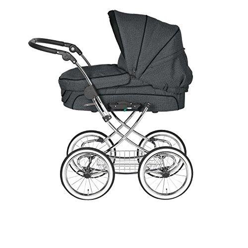 Teutonia Élégance 2016 Rad 48- Cochecito de bebé con soporte para bolsa mármol Talla:Marble: Amazon.es: Bebé