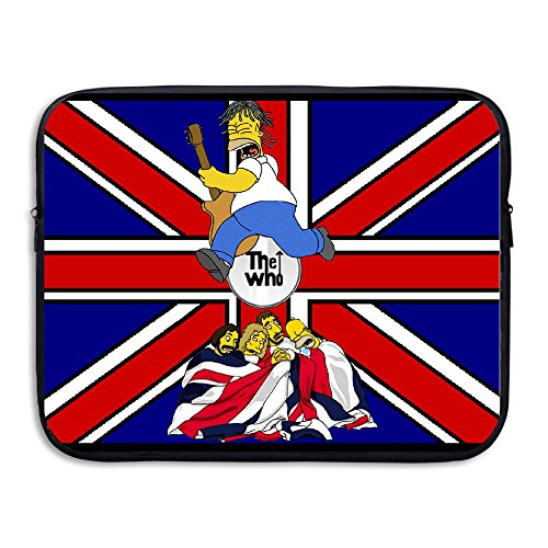 VOLTE THE WHO English Rock Band Cartoon Anti-shock Laptop Carrying Case Size 15 -