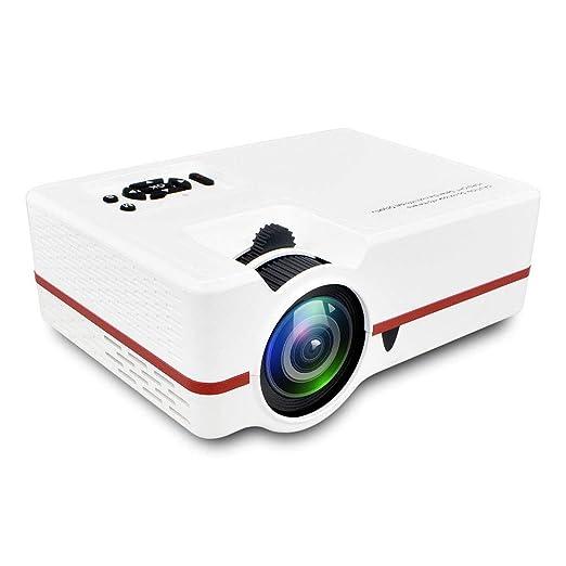 Link Co Proyector casero Full HD 1080p Proyección de Camara led ...