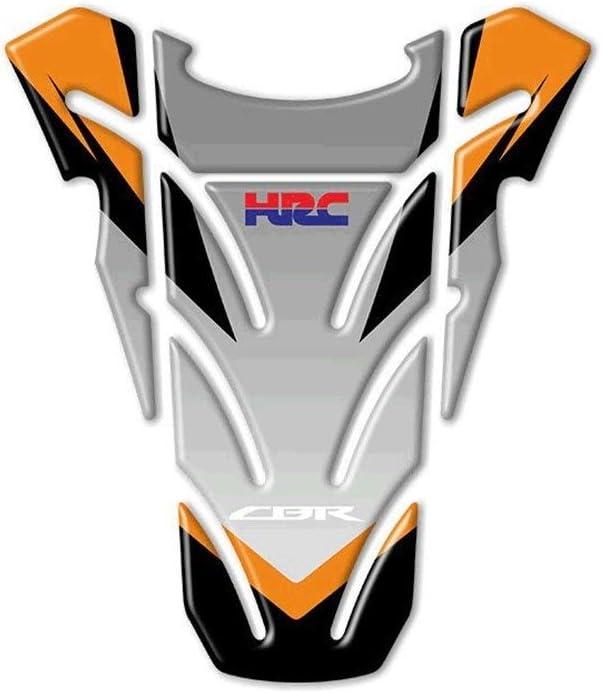 Color : A Moto CBR HRC della decalcomania del serbatoio di combustibile della copertura della protezione Sticker Pad for una Honda CBR600RR CBR1000RR REPSOL CBR900 CBR929 CBR954 CBR250