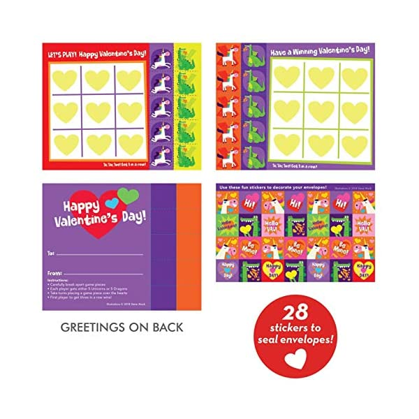 Playhouse 28 Card Super Valentine Exchange Pack for Children 4