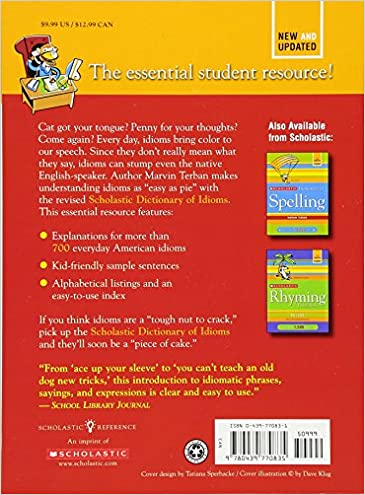 Scholastic Dictionary of Idioms: Marvin Terban: 9780439770835 ...