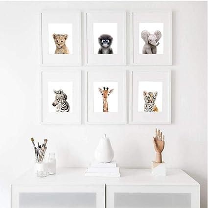 Mxmama Décoration De Chambre D\'Enfant Safari/Art Mural ...